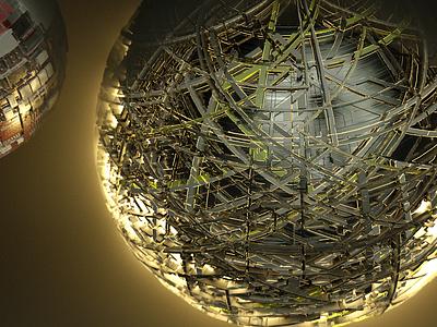 Lighting ball ball design visualisation octane render octanerender octane cinema-4d cinema 4d 3d artist 3d art 3d