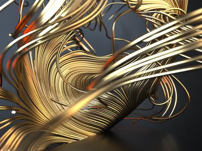 Lines design octane render octanerender octane cinema-4d cinema 4d 3d artist 3d art 3d