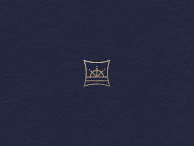 Home and Living marine sea minimalism mark identity graphic designer design logotype logo hamptone home ci brand branding