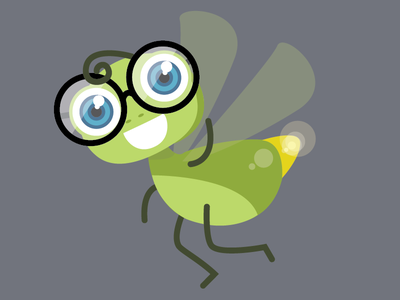 Jeff the Bug bug illustration app