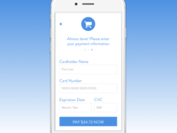 Daily UI 2, credit card payment