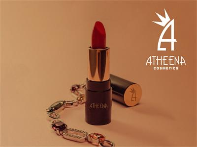 Atheena cosmetics brand logo
