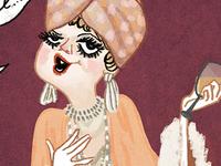 """Angela Lansbury's """"Salome Otterbourne"""""""