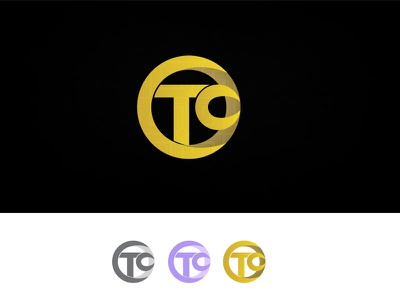CTC / Crypto Training Center rounded designer logo brand circular gold talent idea mark typography training center bitcoin