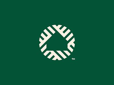 House brand identity minimal block negative space logo startup realestate logodesign icon neighborhood city house home branding brand logo