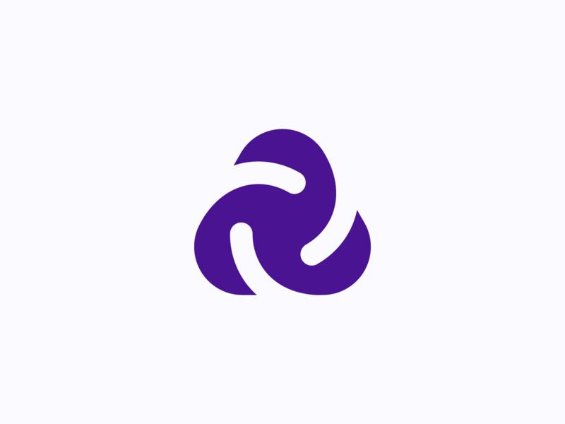 Wip Mark identity icon design minimal connection brand design brand identity a abstract symbol mark brand branding logo