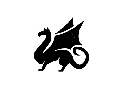 Dragon dragon animal logo logodesign identity icon logo design winghs mithology animal branding brand sketch logo