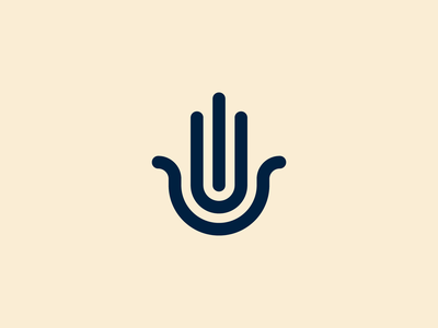 Hand of Hamsa design brand minimal brand identity symbol protection icon arabic mark hamsa hand branding logo