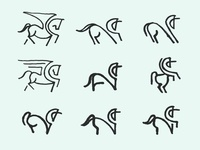 Unicorn Sketches