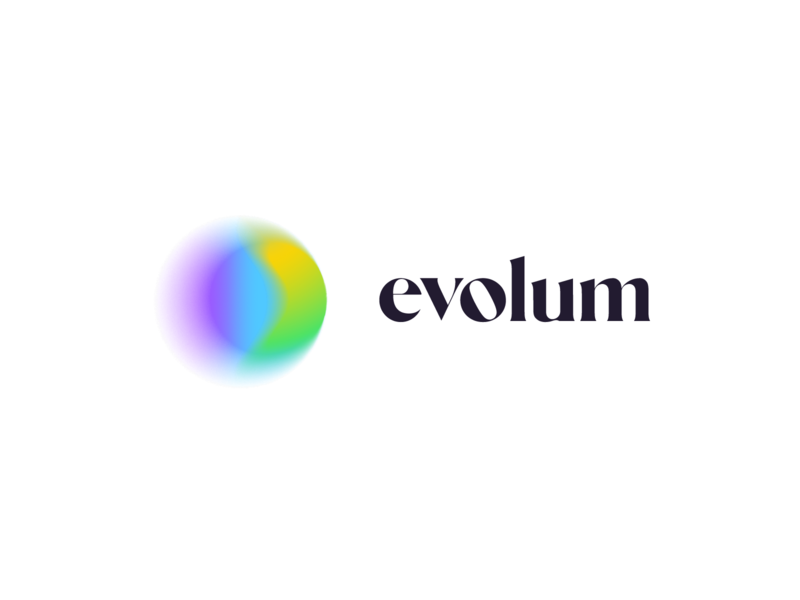 Evolum chakras emotion festive minimal growth colorfull brand meditation flow evolution logo design identity branding logo