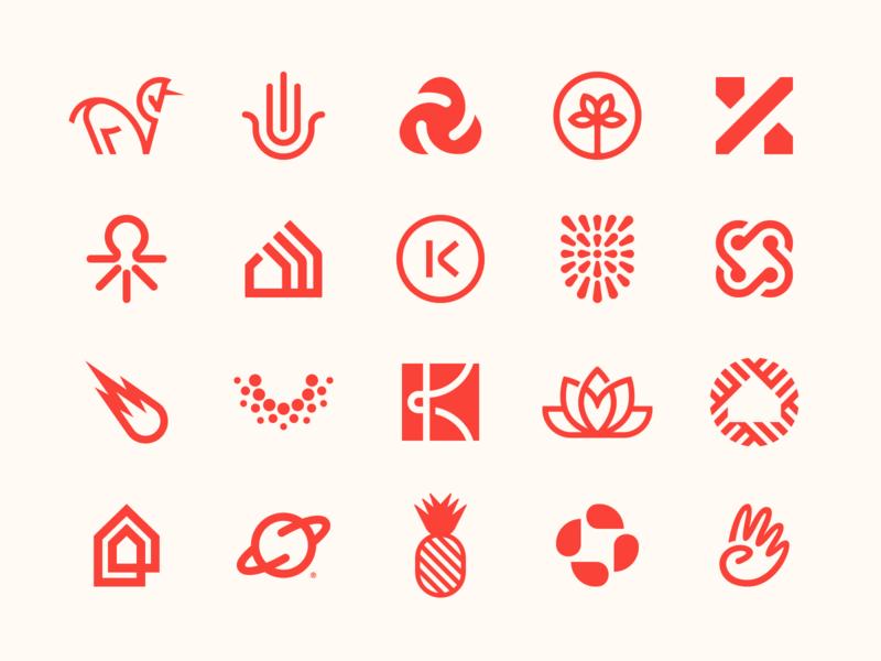 Logos 2020 symbol brand icon monogram identity mark design minimal branding logo