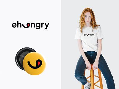 ehungry branding symbol minimal brand design brand identity design logo design food tasty restaurant design identity branding logo