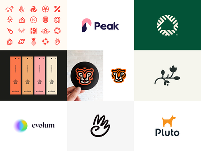 Dribbble 2020 2020 best shot best logo logo design best nine dribbble icon monogram brand identity mark design branding logo