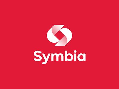 Symbia (Rejected) consulting logo consultancy teamwork collaboration lettermark s symbiosis consulting startup symbol icon minimal monogram brand identity design branding logo