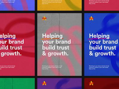 Reviews fun logos logo design startup service identity branding logodesign brand star logo