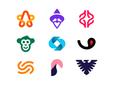 Logo collection logos logotype startup logodesign icon monogram brand identity mark minimal design branding logo