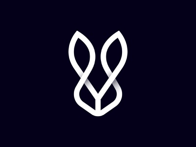 Rabbit animal logo minimalist logo logo design rabbit logo rabbit symbol startup icon brand identity mark minimal design branding logo