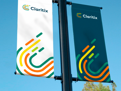 Claritix mark identity sofia tsanev logo flow data strategies marketing problems customer analysis