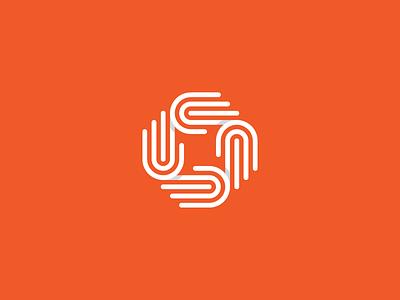 Helping Hands branding design logo charity social hand help