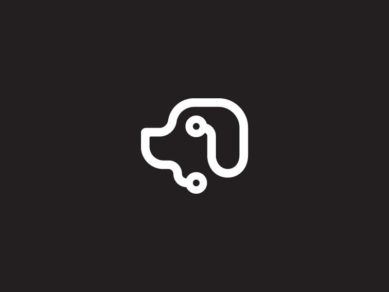 Doggy Logo by Omnium on Dribbble