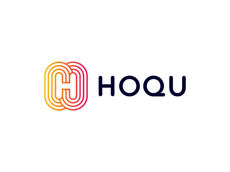 Hoqu logo design