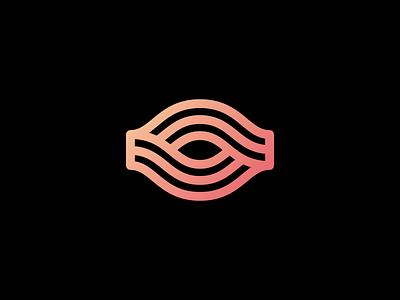 Eye icon vision connect branding mark logo eye
