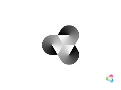 T Monogram show content light projection branding mark monogram t