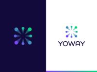Yoway logo design