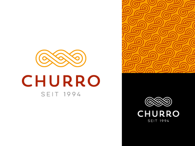 Churro logo design