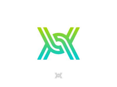 X chain Ambigram