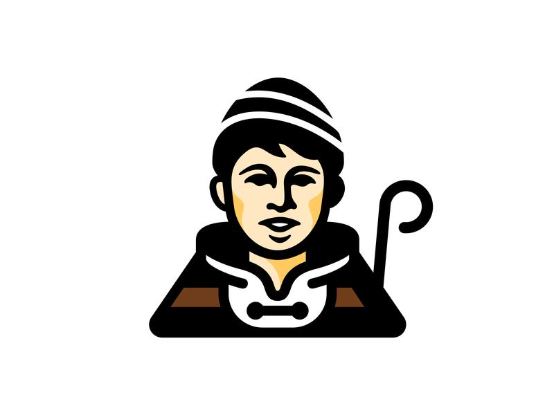 Koledar Mark koledar christmas logo face mascot branding character boy tradition song portrait