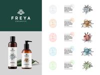 Freya Organics Branding