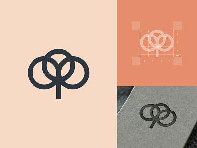 Cotton Mark design icon identity tag apparel branding brand minimal plant logo cotton