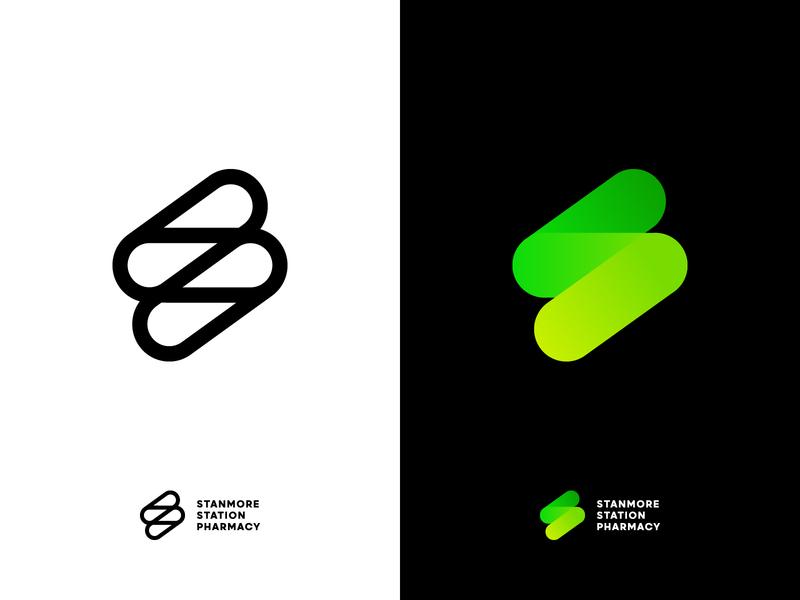 Work in progress logo logo pharmacy store brand branding icon pill pharmacist health handmade