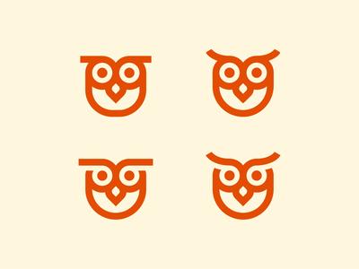 Owl character explorations