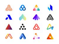 Logo Alphabet - A Lettermarks