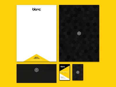 Blonc Business Stationery