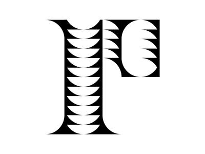 Letter P minimalism experiment serif typism creative branding identity art design daily type letter design font experiment new font typography type graphic design font design