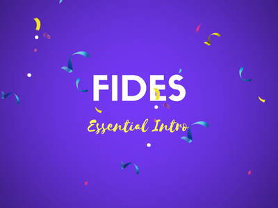 Fides - Essential Intro promotion coming soon template new year eve new year christmas cyber monday black friday teaser landing page creative coming soon