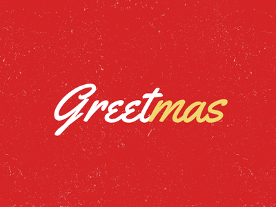 [Chirstmas Freebie] Christmas Greeting - Personalize and Send free template typography animation jquery html html template ecard e-card greeting greetingcard new year christmas