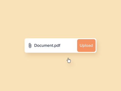 Upload File app icon microinteraction icons vector microinteractions ae animation ui ux