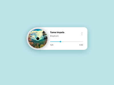 Music Player Interaction music player music music app icons motion graphics principle microinteractions animation ui ux