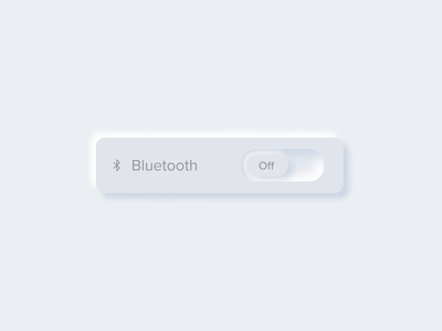 Neumorphism - Toggle microinteractions ae animation ui ux