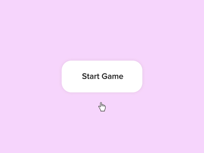 Start Game Interaction c4d 3d motion graphics after effects microinteractions ae animation ui ux