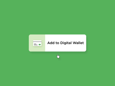 Digital Wallet - Hover icons icon vector branding microinteraction illustration microinteractions ui animation ux