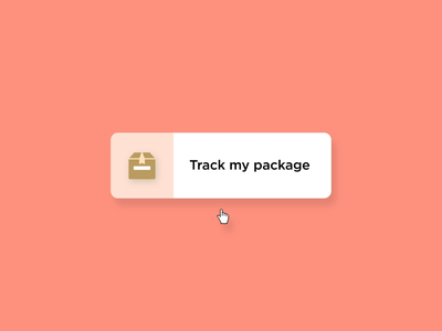 Track My Package principle motion graphics microinteraction aftereffects after effects ae microinteractions ui animation ux