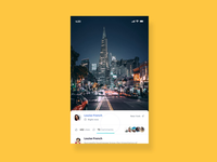 Social Media Like/Comment Interaction