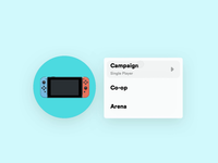 Nintendo Switch Menu