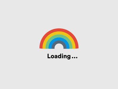 Pride Loading lgbt pride icons logo illustrations branding aftereffects illustration motion graphics after effects principle microinteractions ae animation ui ux