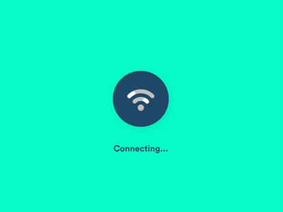 Network Connection microinteraction icons aftereffects motion graphics after effects microinteractions ae animation ui ux